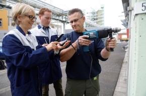 Bild: Infraserv Höchst als Vorreiter: Vibrationsmessungen am Arbeitsplatz